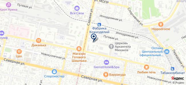 Ивком, ООО на карте