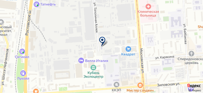 КубаньЭнерго-Транс, ООО на карте