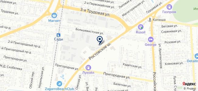 Югтехкомплект, ООО на карте