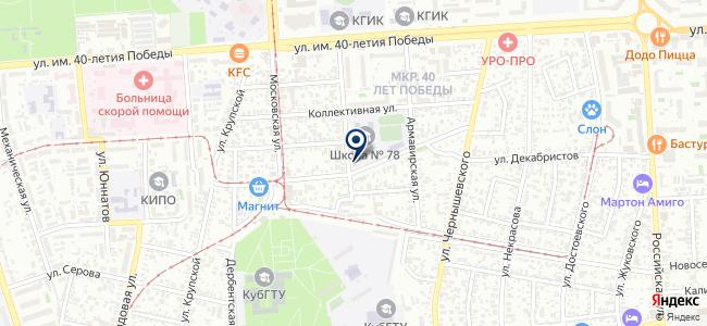 Элемер Кубань, ООО на карте