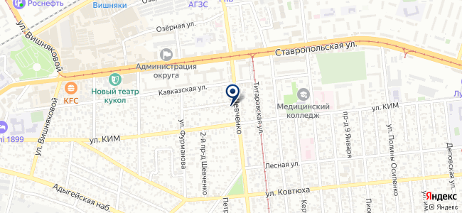 Юг-ВодоПрибор, ООО на карте