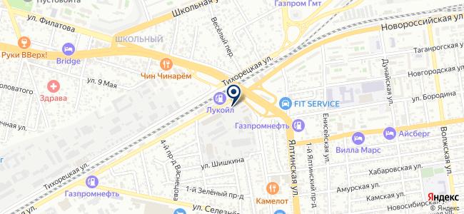 Cross-Link на карте