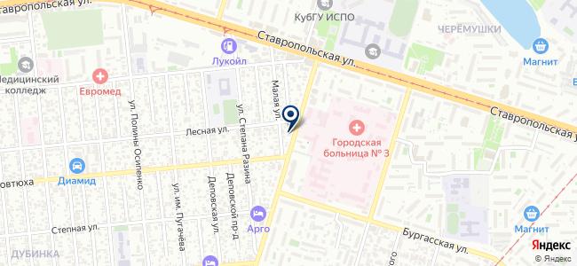 Кубаньэлектропривод, ООО на карте