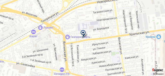 Акрил на карте