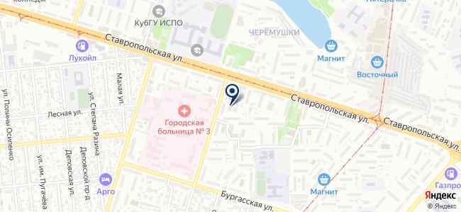 Южрегионстрой, ООО на карте