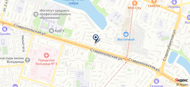 ЦУТ на карте