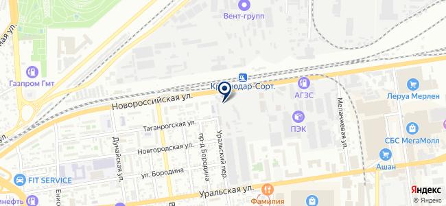 ТСК, ООО на карте