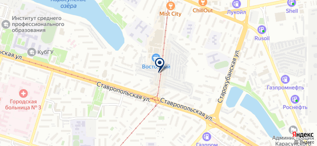 Инструмент сервис на карте
