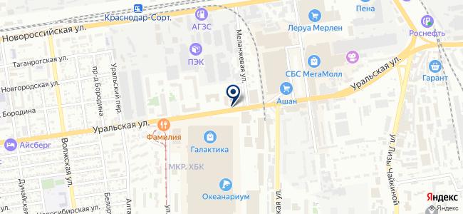 Кубань-Инструмент на карте
