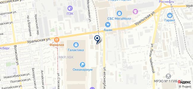 ВИВА на карте