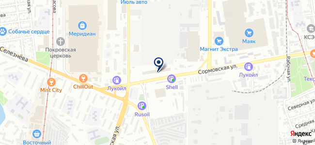 Оцелот, ООО на карте