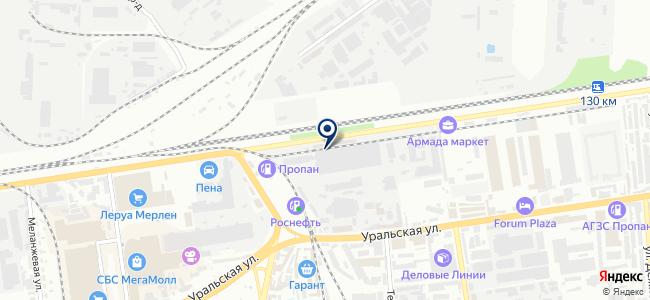 Апикс-Юг, ООО на карте