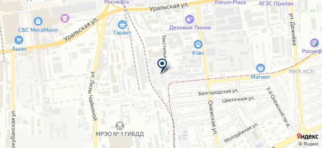 Юг-Агрегатсервис, ООО на карте