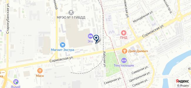 Омакс на карте