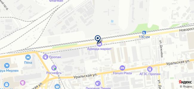 Кубаньэлектро на карте