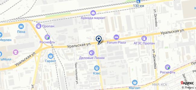 Мириада, ООО на карте