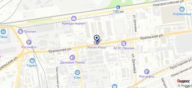 ЮгКабель на карте
