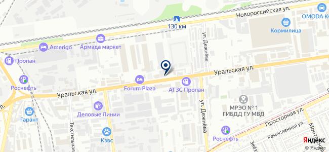 ЭДС, ООО на карте