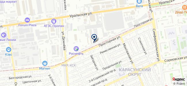 Екатеринодар-С, ООО на карте