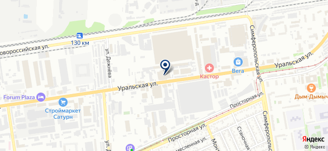 Кварц на карте
