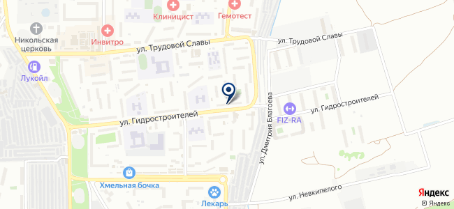 Лилия-92 на карте