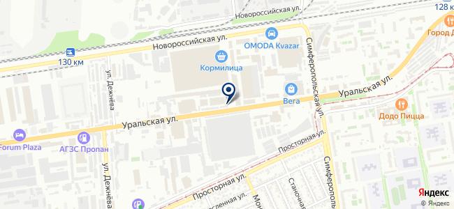 Юг-Элемент на карте