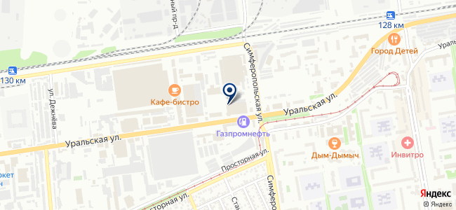 TopLight на карте