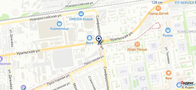 Анталекс на карте