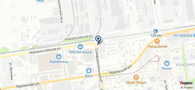 Инструмент-61, ООО на карте