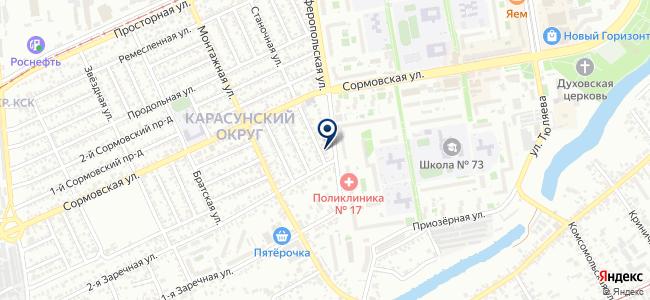 Ледел-Краснодар на карте
