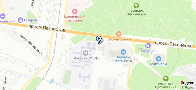 Строймашсервис-Черноземье, ООО на карте