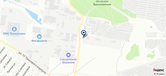 ЭКМ, ООО на карте