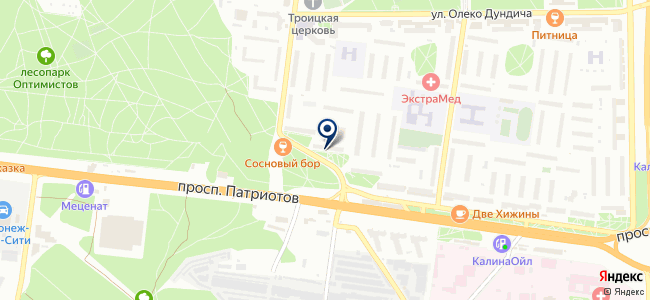 Энкор-Инструмент на Патриотов на карте