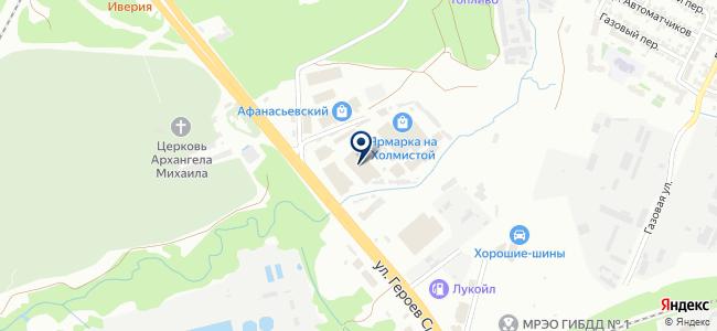 Арт Хом на карте