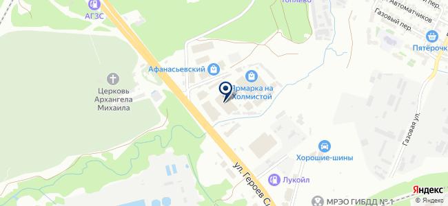 Раут на карте