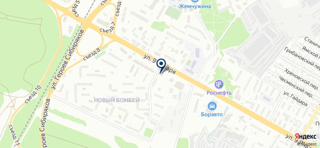 Энкор-Инструмент на 9 Января на карте
