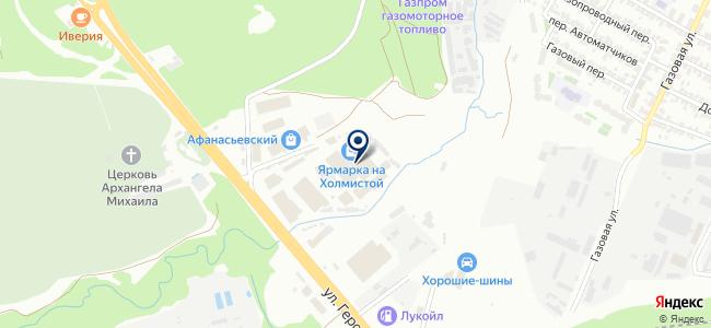 Люстры на карте