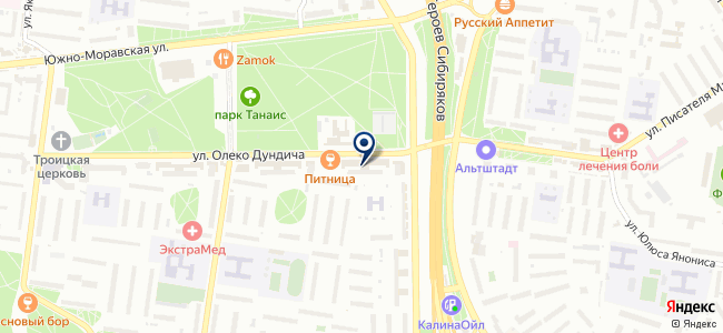 Люка-Электро на карте
