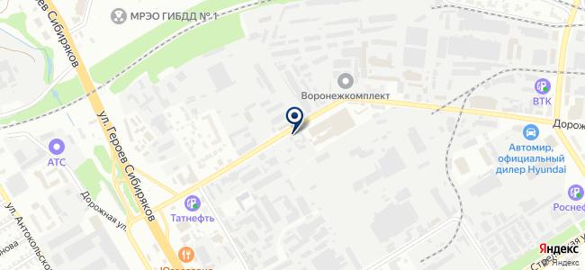 Старт, ООО на карте