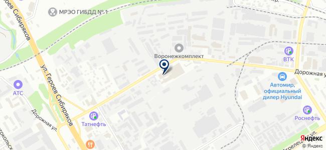 СЭП, ООО на карте