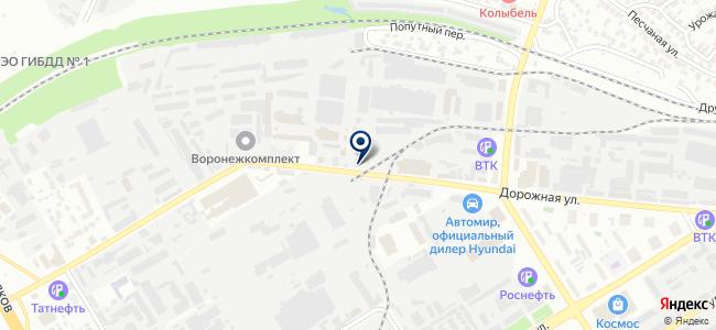 Воронежская Кабельная Компания, ООО на карте