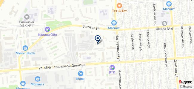 Строительное оборудование, ООО на карте