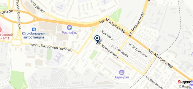 Компания Техномаркет, ООО на карте