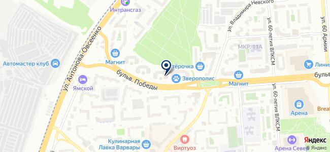 Диком-Черноземье, ООО на карте