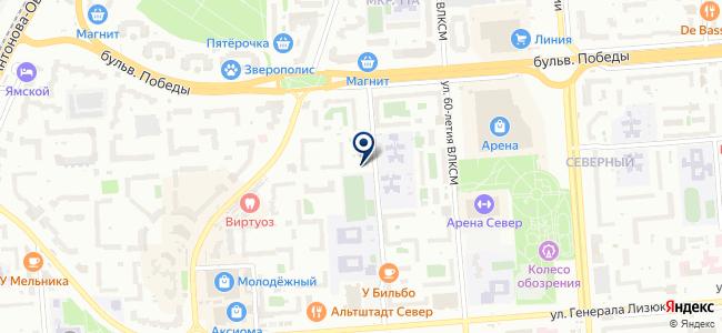 Центр Бытовых Услуг ВОРОНЕЖ, ООО на карте