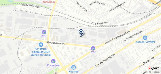 Воронеж-ТЭН, ООО на карте
