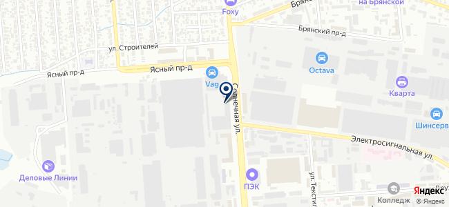 Гамма, ООО на карте
