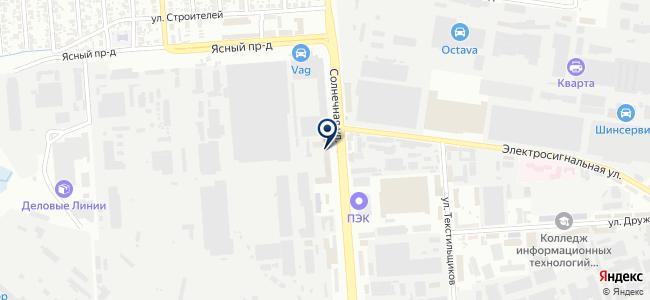 Аякс-Автоматика, ООО на карте