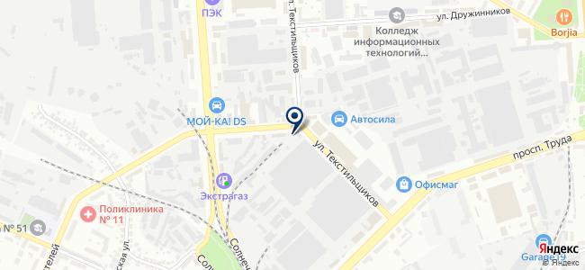 ЭДС-сервис, ООО на карте
