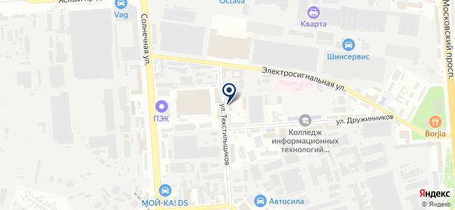 Элита-Мск, ООО на карте
